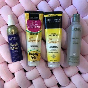 Hair Care Bundle Blonde: Aveda, John Frieda
